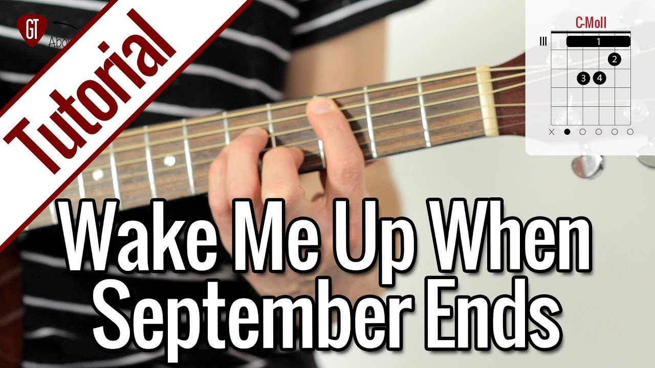Green Day – Wake Me Up When September Ends | Gitarren Tutorial Deutsch
