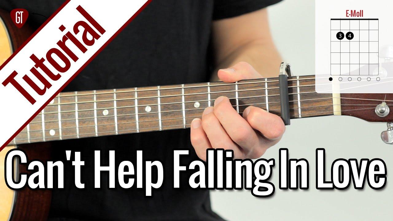 Elvis Presley – Can't Help Falling In Love | Gitarren Tutorial Deutsch