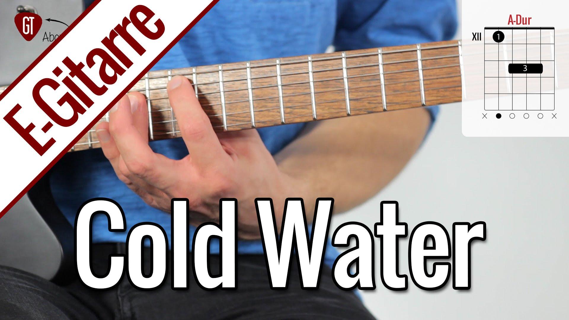 Major Lazer feat. Justin Bieber – Cold Water | E-Gitarren Tutorial Deutsch