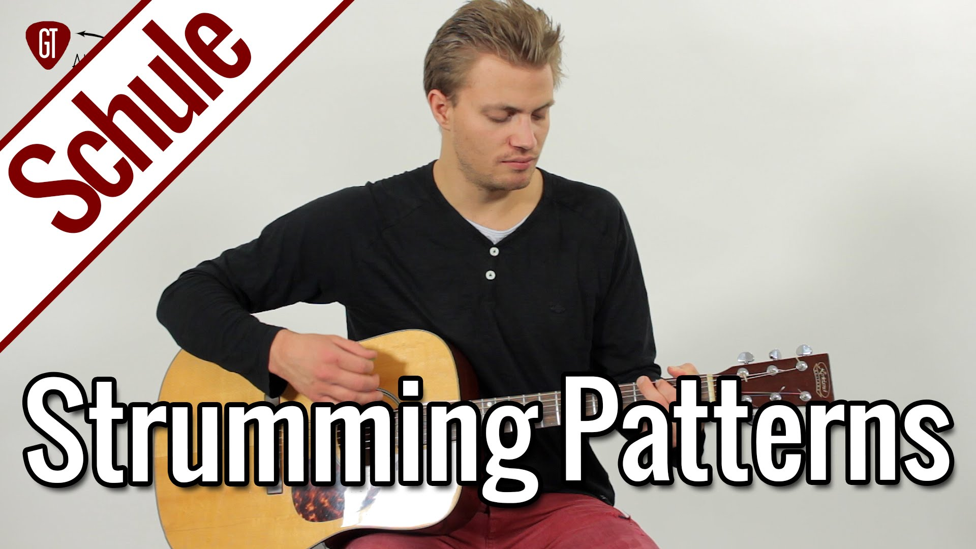 Gitarre lernen – Fünfte Gitarrenstunde: Strumming Patterns | Gitarrenschule