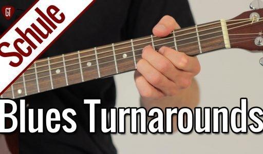 Meine 3 Blues Turnarounds Favoriten   Gitarrenschule