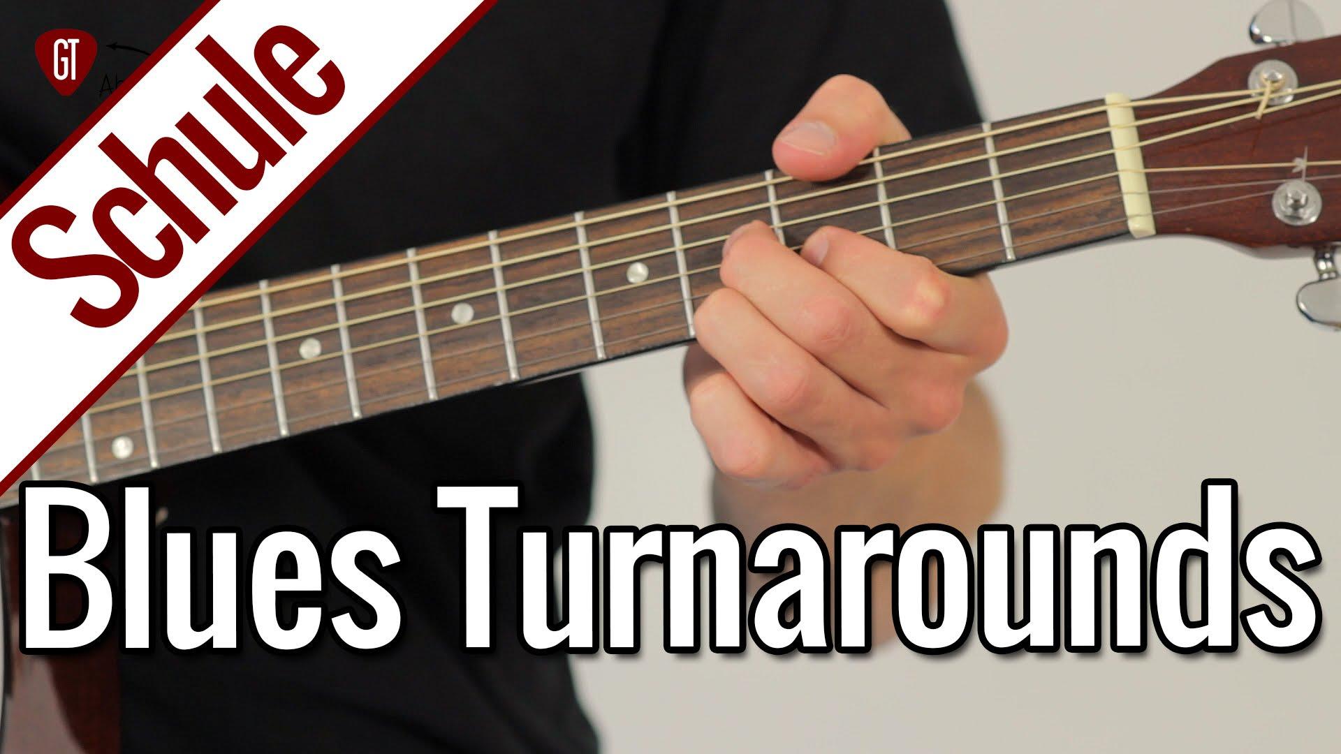 Meine 3 Blues Turnarounds Favoriten | Gitarrenschule