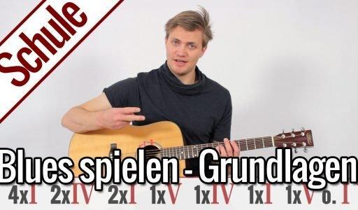 Blues spielen – Grundlagen | Gitarrenschule