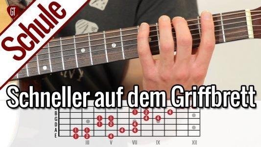 Top Übung zum schneller Gitarre spielen | Gitarrenschule
