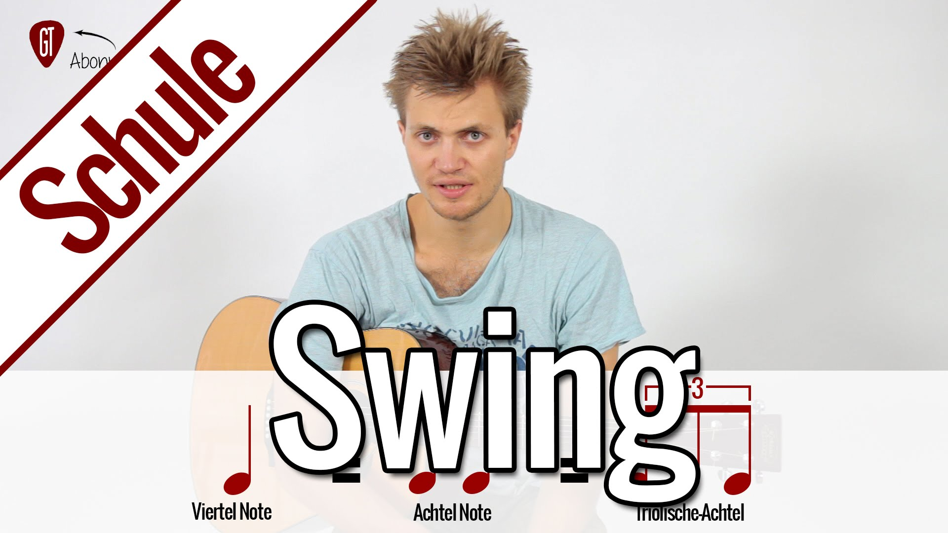 Swing-Rhythmus lernen | Gitarrenschule