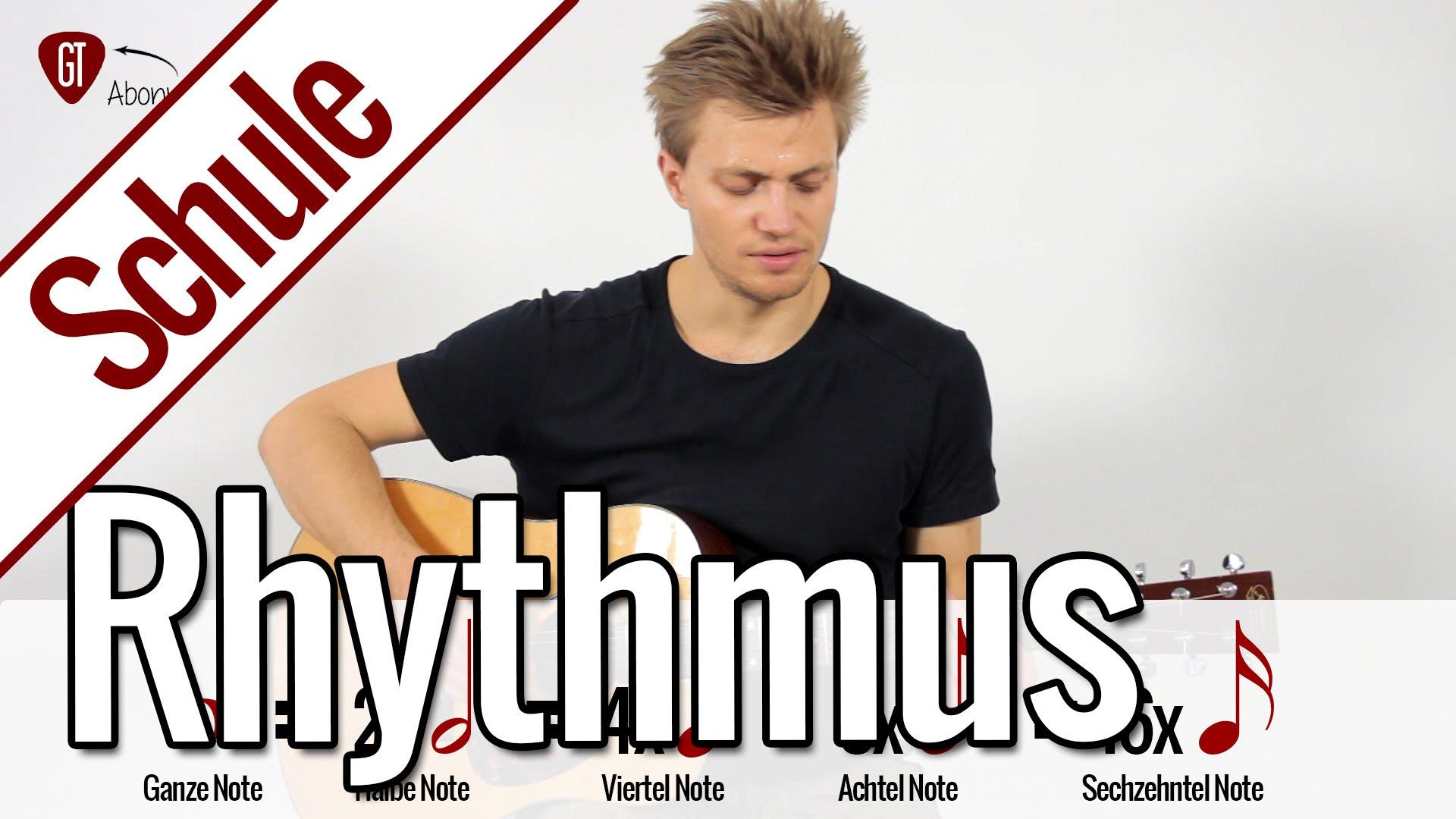 Rhythmus lernen | Gitarrenschule