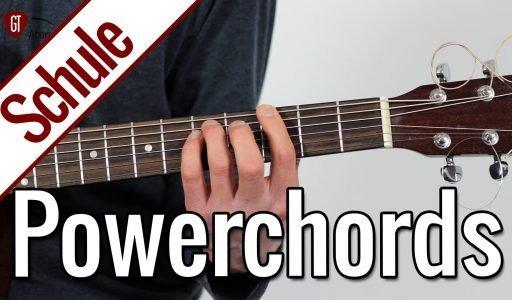 Powerchords   Gitarrenschule