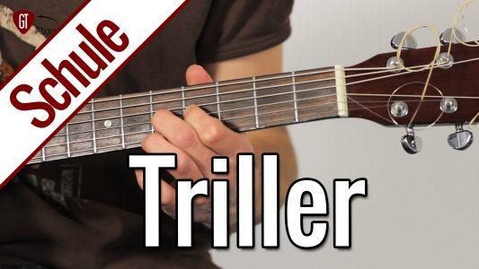 Triller   Gitarrenschule