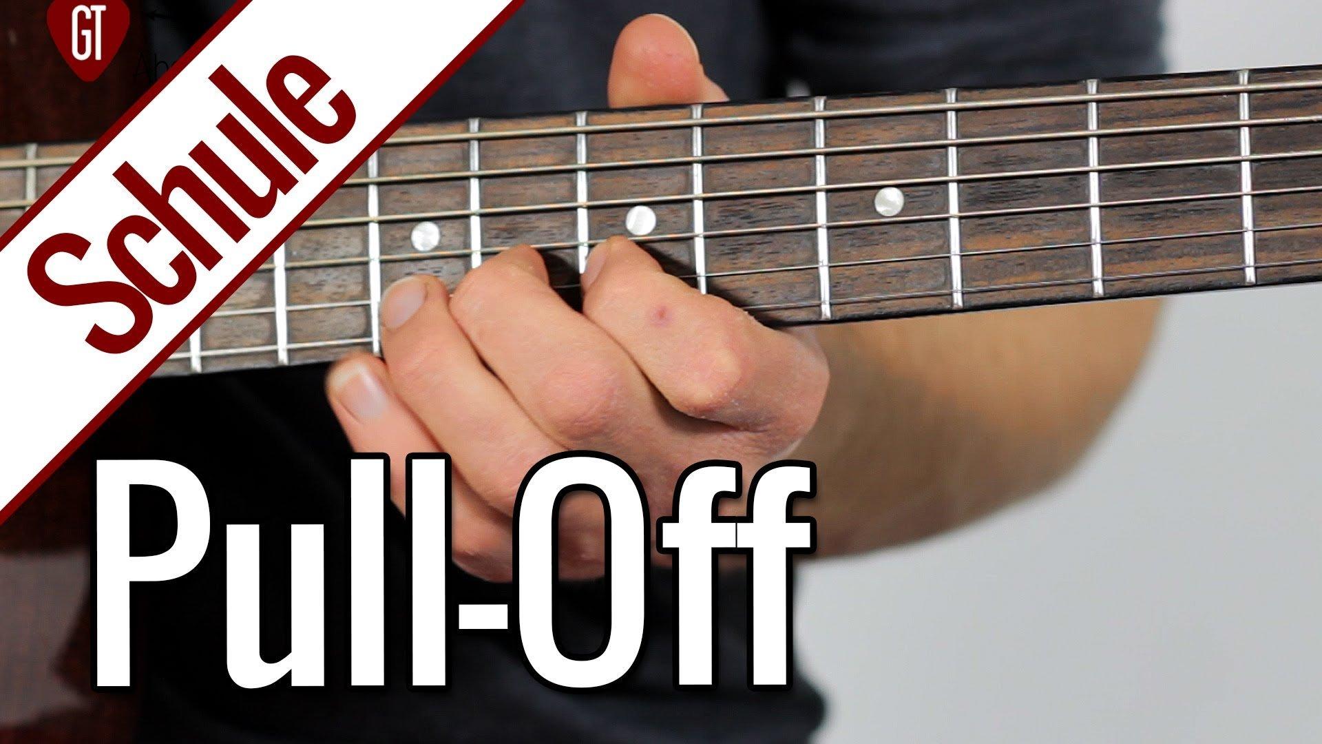 Pull-Off | Gitarrenschule