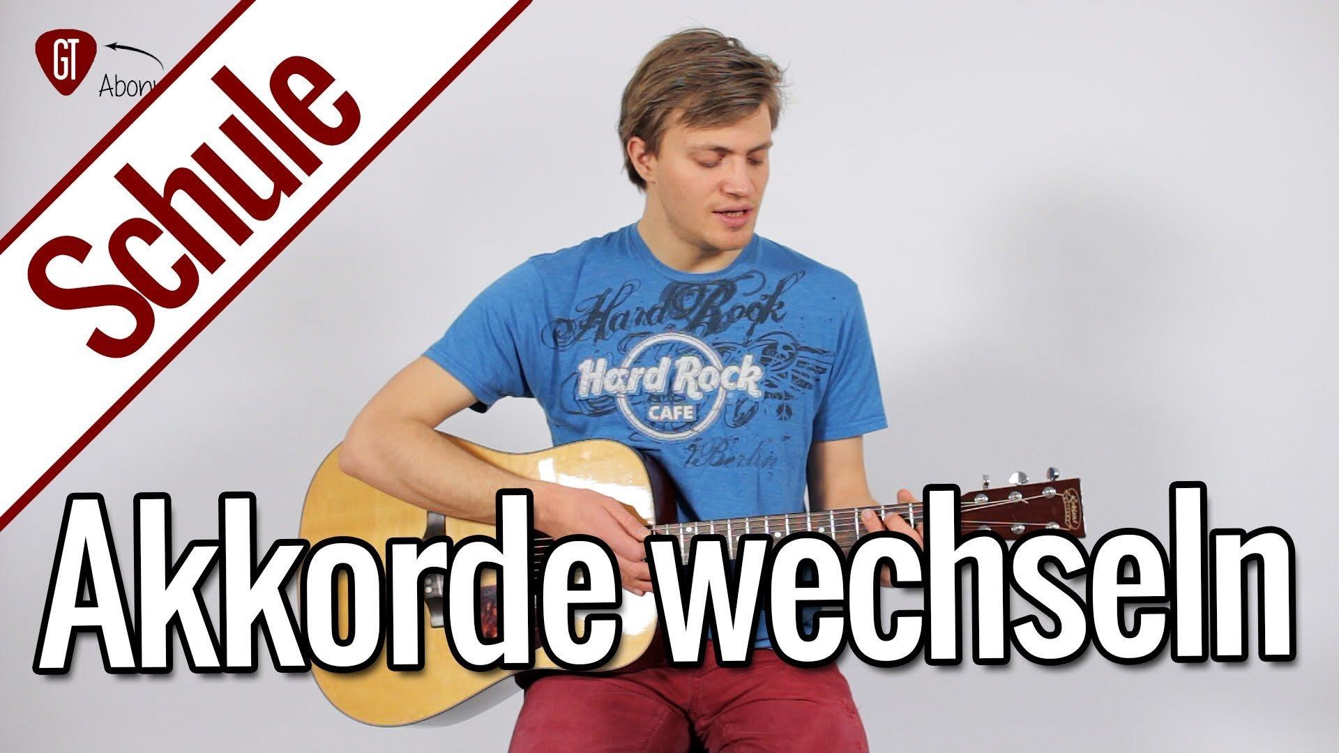 Tricks zum einfachen Akkorde wechseln | Gitarrenschule