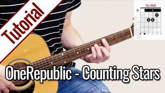 OneRepublic – Counting Stars | Gitarren Tutorial Deutsch