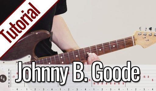 Chuck Berry – Johnny B. Goode | Gitarren Tutorial Deutsch
