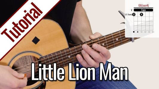 Mumford and Sons – Little Lion Man | Gitarren Lernen Deutsch