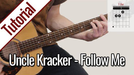 Uncle Kracker – Follow Me | Gitarre Lernen Deutsch