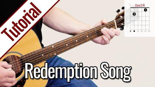 Bob Marley – Redemption | Gitarre Lernen Deutsch