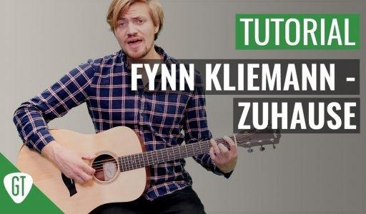 Fynn Kliemann – Zuhause   Gitarren Tutorial Deutsch