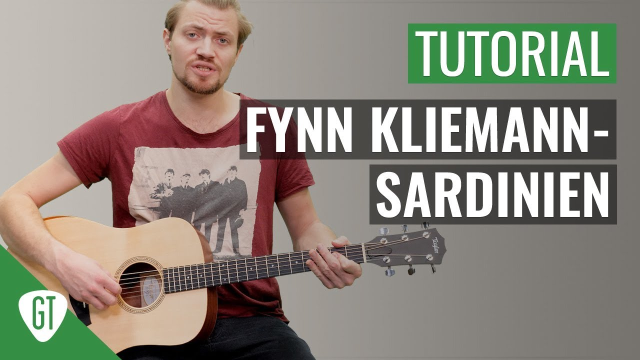 Fynn Kliemann – Sardinien | Gitarren Tutorial Deutsch