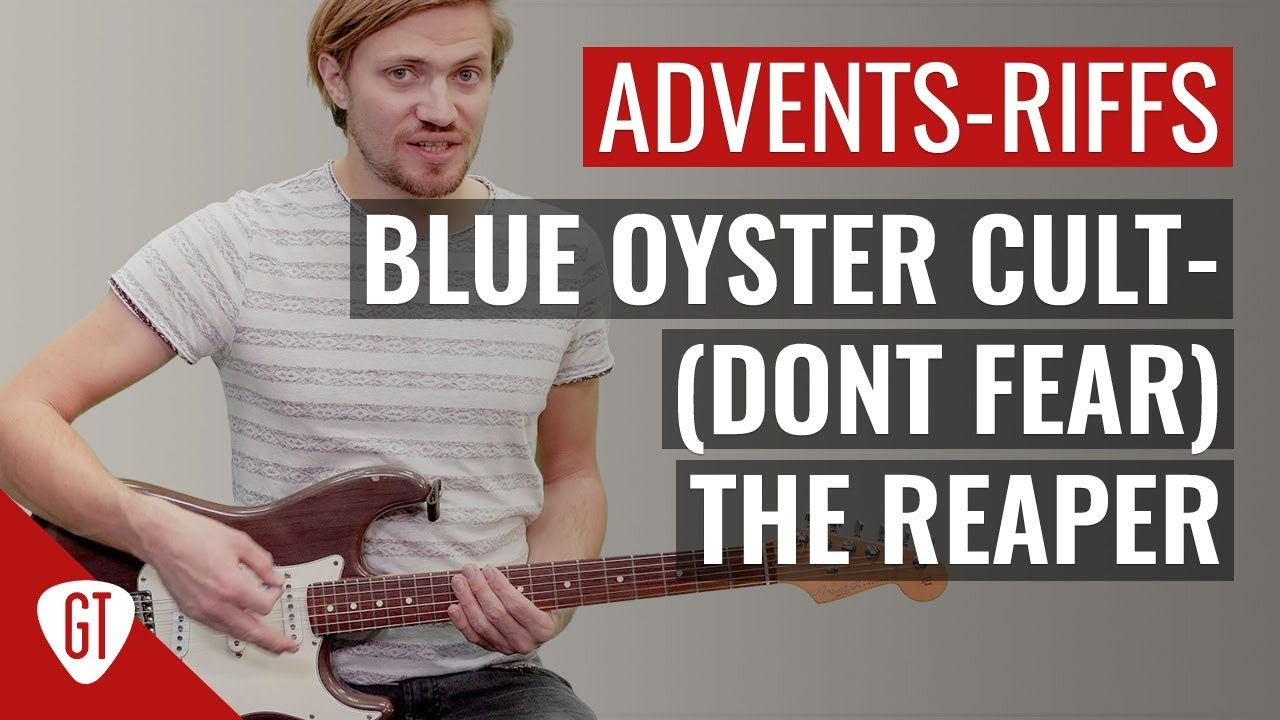 Blue Oyster Cult – (Don't Fear) The Reaper | Riff Tutorial Deutsch