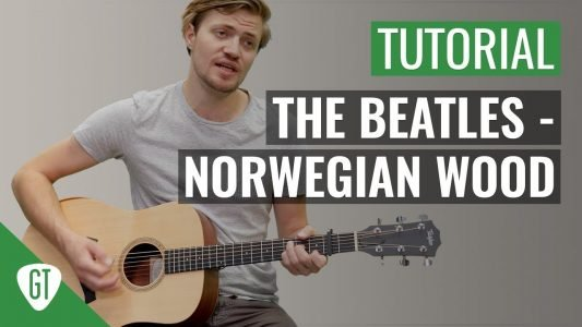 The Beatles – Norwegian Wood   Gitarren Tutorial Deutsch