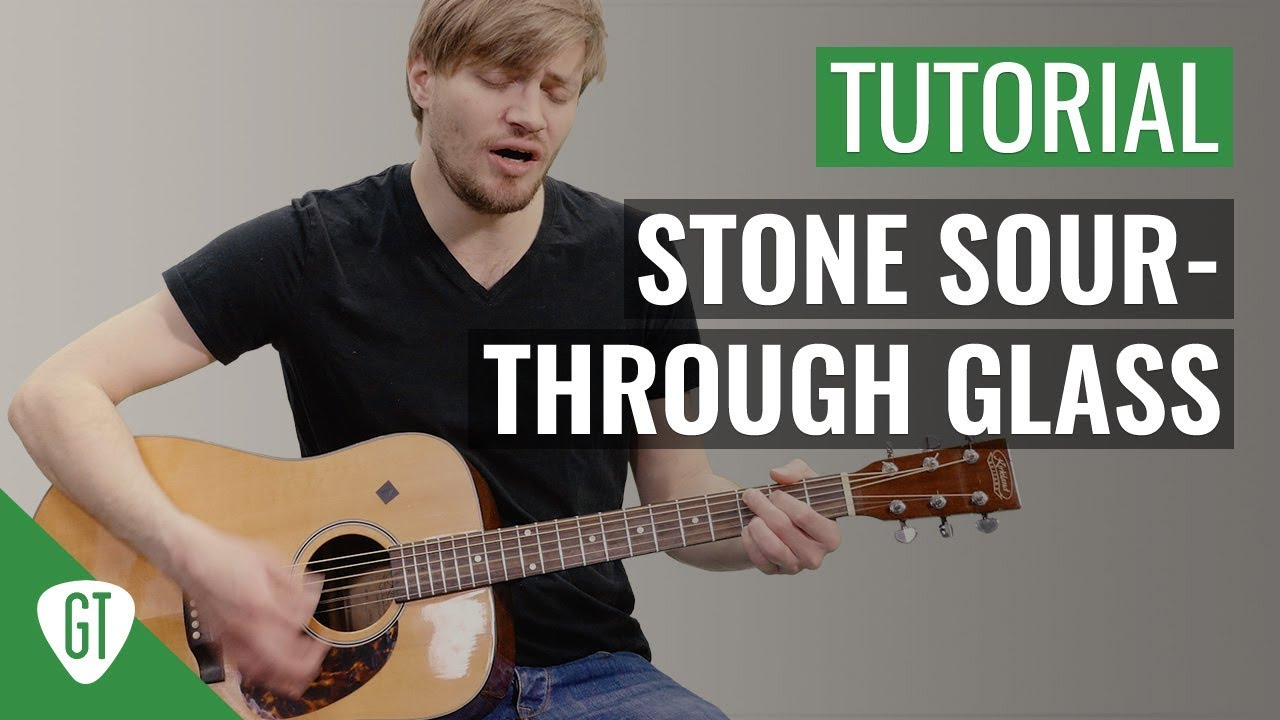 Stone Sour – Through Glass | Gitarren Tutorial Deutsch