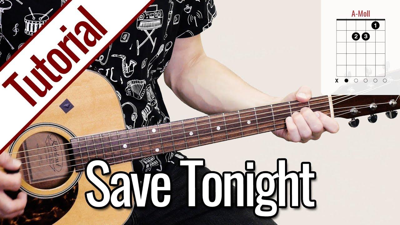 Eagle-Eye Cherry – Save Tonight | Gitarren Tutorial Deutsch