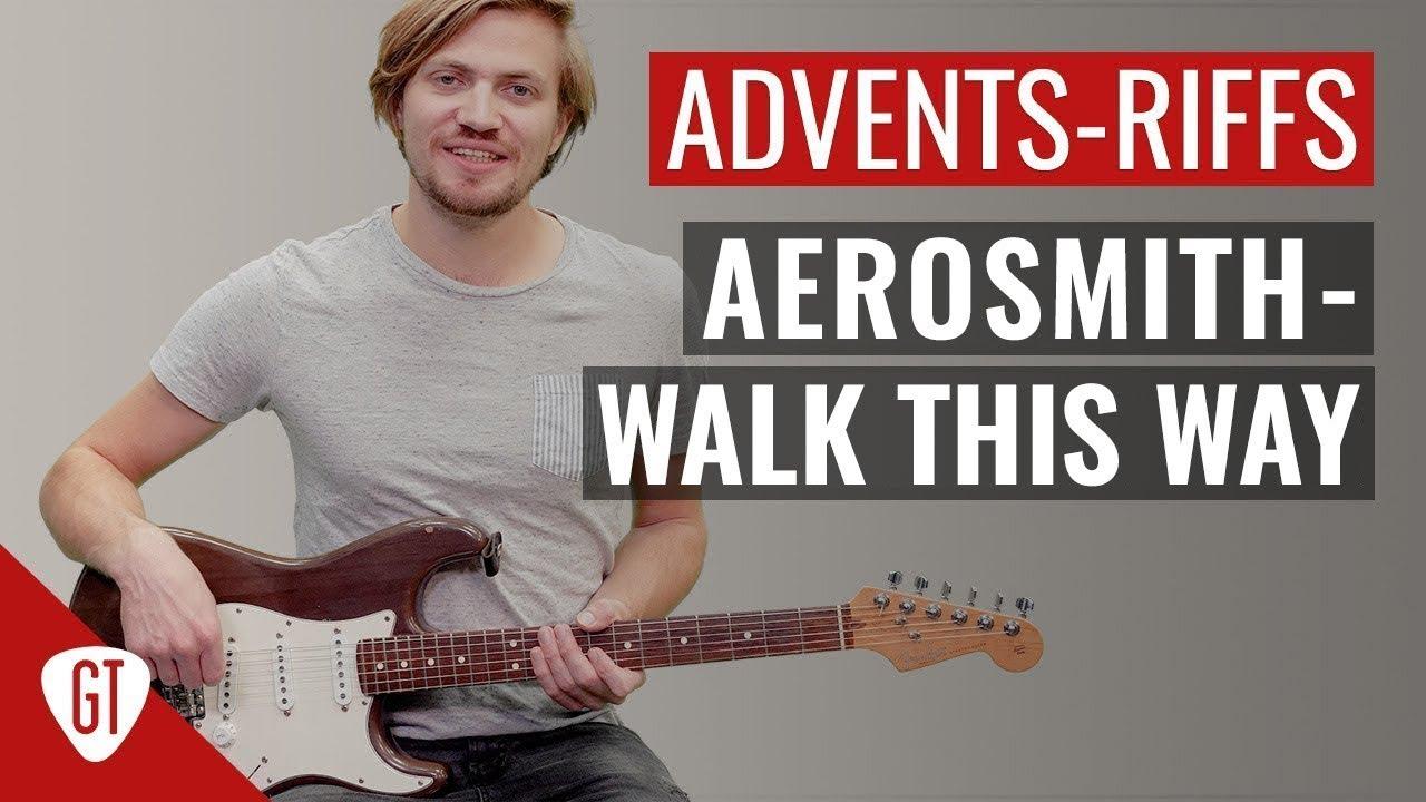 Aerosmith – Walk This Way   Riff Tutorial Deutsch