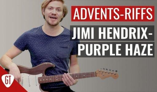 Jimi Hendrix – Purple Haze   Riff Tutorial Deutsch