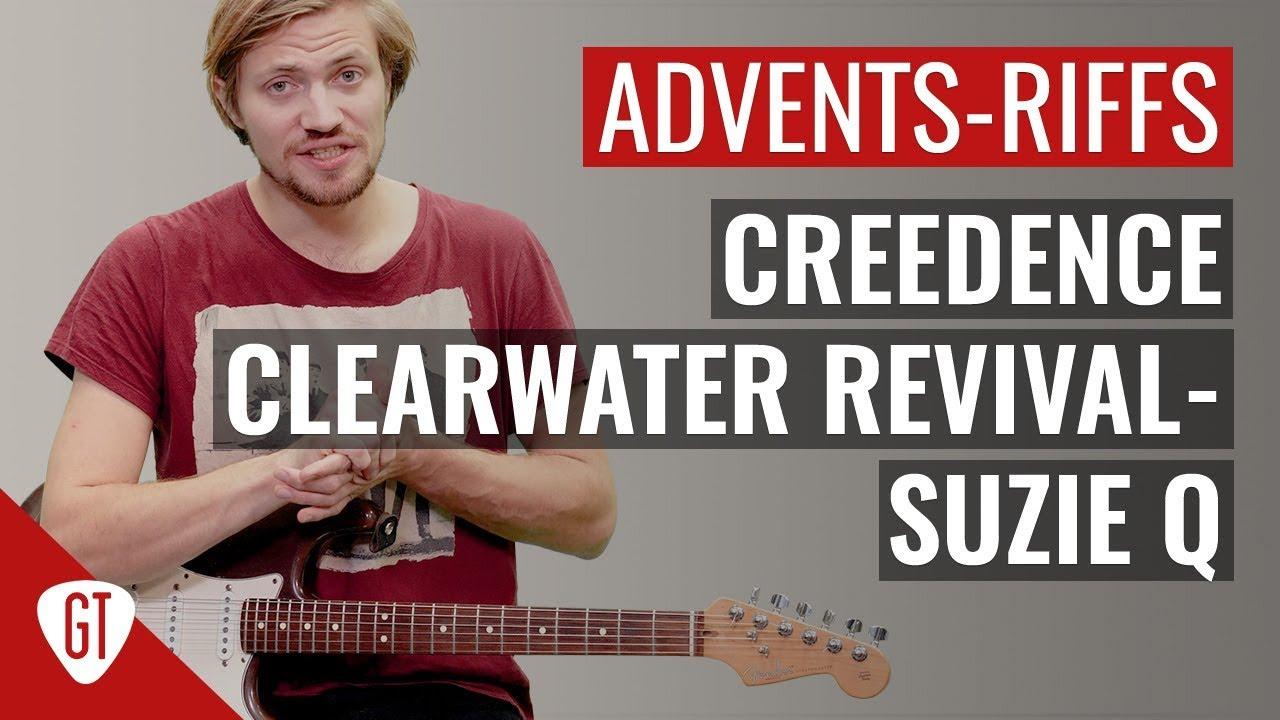 Creedence Clearwater Revival – Suzie Q   Riff Tutorial Deutsch