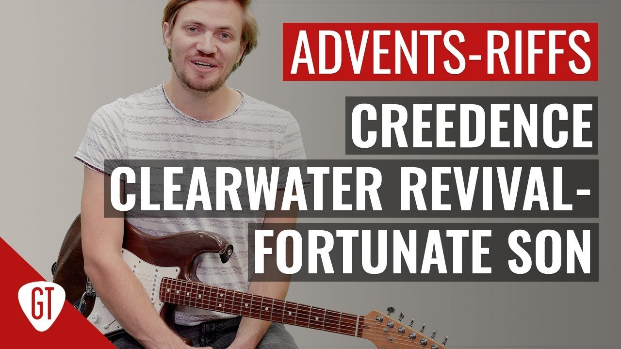 Creedence Clearwater Revival – Fortunate Son | Riff Tutorial Deutsch