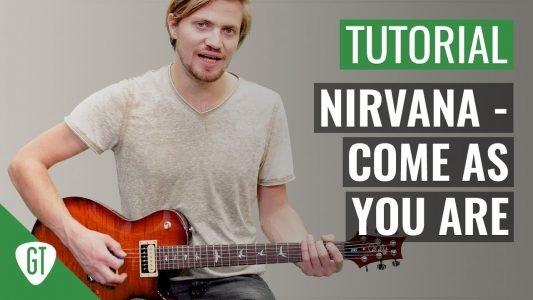 Nirvana – Come As You Are | Gitarren Tutorial Deutsch