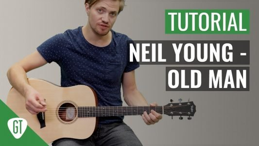Neil Young – Old Man | Gitarren Tutorial Deutsch