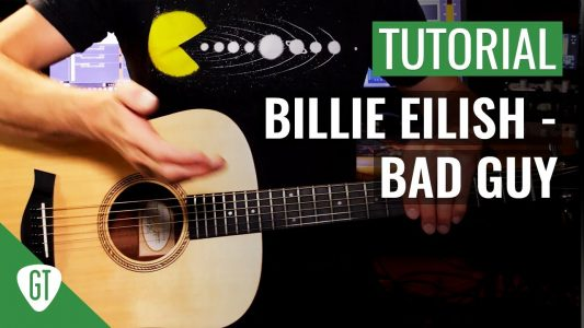 Billie Eilish – Bad Guy | Gitarren Tutorial Deutsch