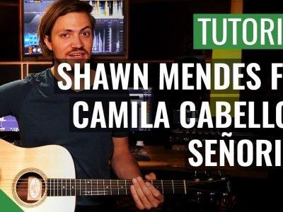 Shawn Mendes ft. Camila Cabello – Señorita | Gitarren Tutorial Deutsch
