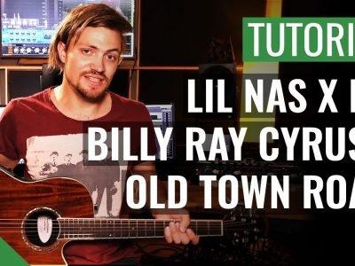 Lil Nas X ft. Billy Ray Cyrus – Old Town Road | Gitarren Tutorial Deutsch