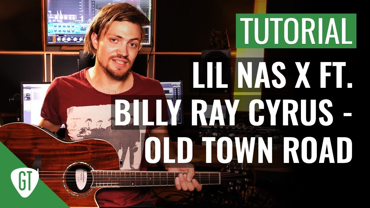 Lil Nas X ft. Billy Ray Cyrus – Old Town Road | Gitarren Tutorial Deutsch
