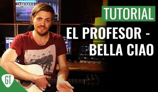 El Profesor – Bella Ciao (Haus des Geldes Soundtrack) | Gitarren Tutorial Deutsch