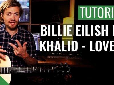 Billie Eilish ft. Khalid – Lovely | Gitarren Tutorial Deutsch